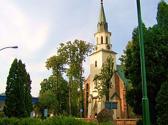Ropczyce - The Parish Church of the Transfiguration in Ropczyce