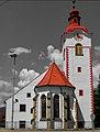 Church in Hoče, Slovenia foto, Grega Pirc - panoramio (cropped).jpg