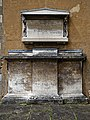 Church of St Andrew's, Boreham, Essex - external wall monuments.jpg