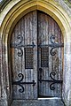 Church of St Mary the Virgin, Woodnesborough, Kent - north porch door.jpg