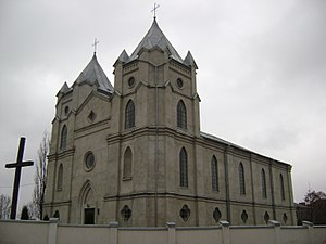 Shumsk - Image: Church of the Immaculate Conception, Shumsk 2