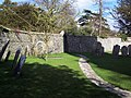 Churchyard at St Andrew's Church, West Dean - geograph.org.uk - 425499.jpg