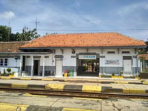 Cikaum Station Building.jpg