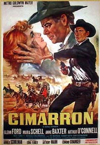 Cimarron (novel) - Movie poster for 1960 film.