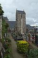 Cimetière communal et église paroissiale (Le Mont-Saint-Michel, Manche, France).jpg