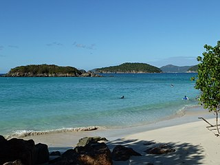 islet in the United States Virgin Islands