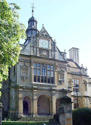 George Street, Oxford - The former City of Oxford High School for Boys in George Street