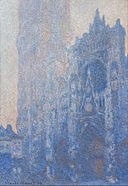 Claude Monet - Rouen Cathedral Façade and Tour d'Albane (Morning Effect) - Google Art Project.jpg