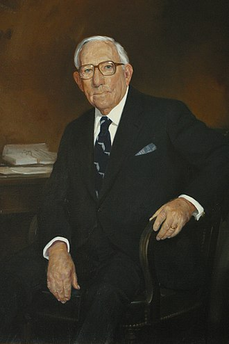 Claude Pepper - Portrait of Pepper in the Collection of the U.S. House of Representatives