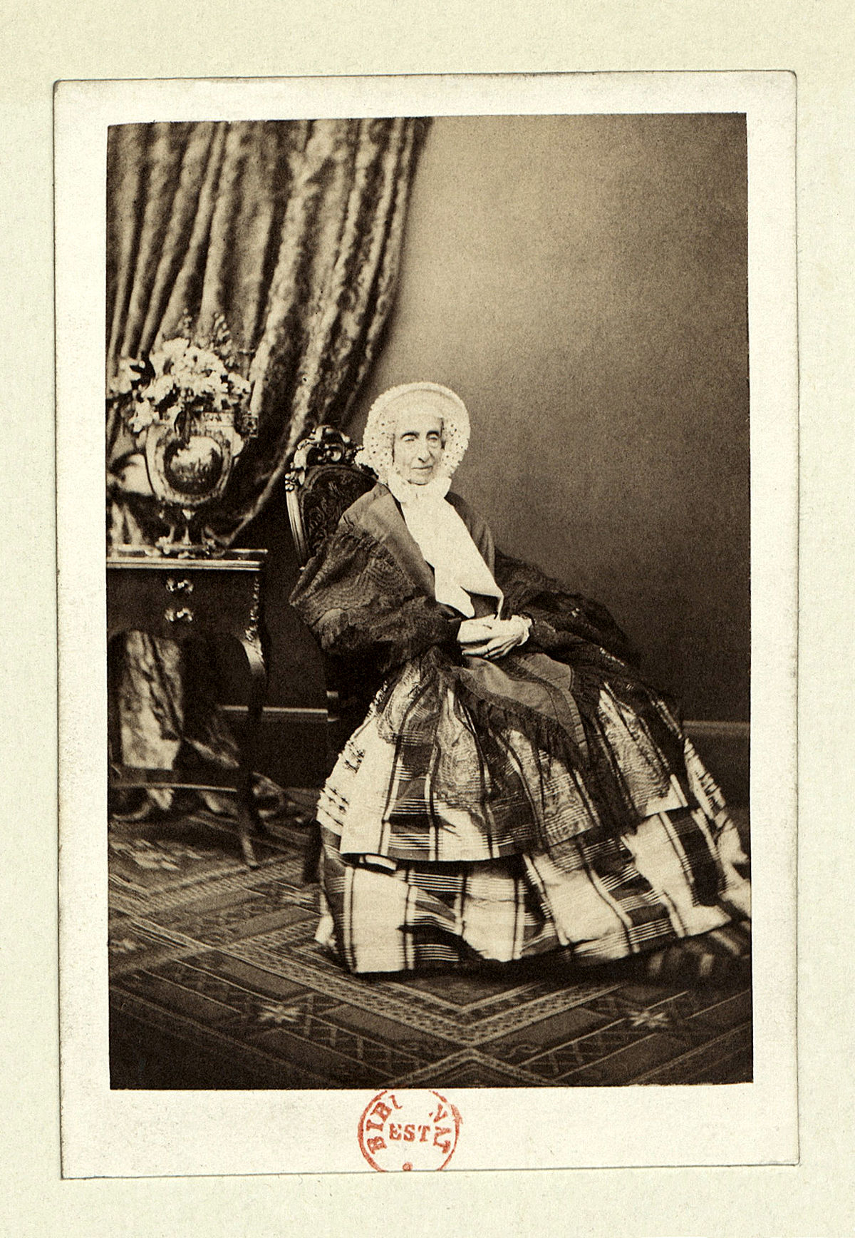 Claudet, Antoine (1797-1867) - Maria Amelia di Borbone-Napoli (1782-1866) Regina dei francesi.jpg