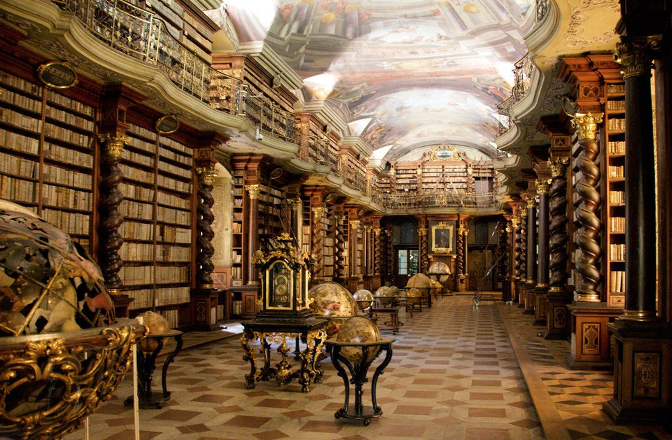 Clementinum library