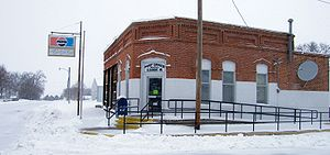 Clearmont Post Office in February 2009