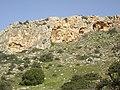 Cliffs in Oren Creek, Mt. Carmel - panoramio.jpg