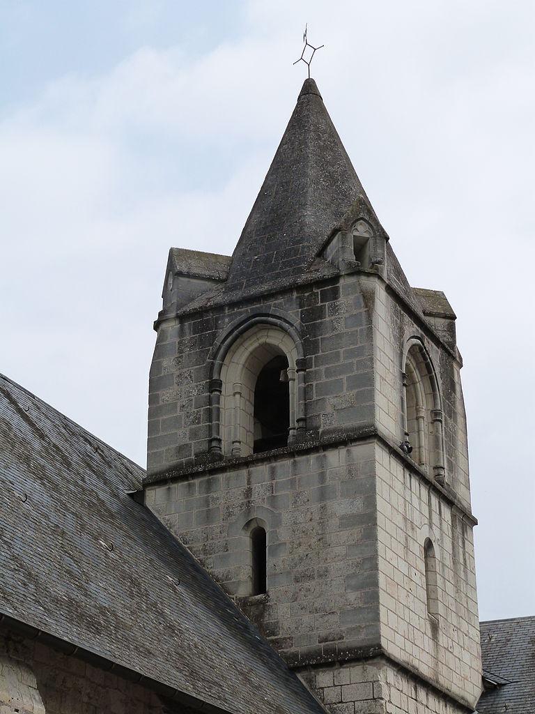 Narbonne Version 3 1: File:Clocher De L'église Saint-Aubin De Trèves.JPG