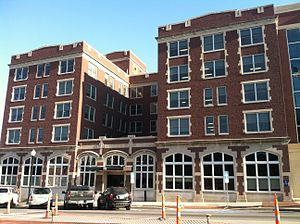 City Hall (Columbia, Missouri) - The 1917 structure restored