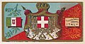Coat of Arms, Italy, from the Military Series (N224) issued by Kinney Tobacco Company to promote Sweet Caporal Cigarettes MET DPB874407.jpg
