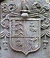 Coat of Arms as they appear on Archbishop Miler McGrath's tomb 1622AD.jpg