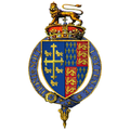 Coat of Arms of Richard II, King of England.png