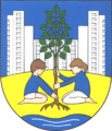 Coat of arms de-be hohenschoenhausen 1987.png