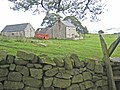 Cockmount Hill Farm on Hadrian's Wall National Trail - geograph.org.uk - 536659.jpg