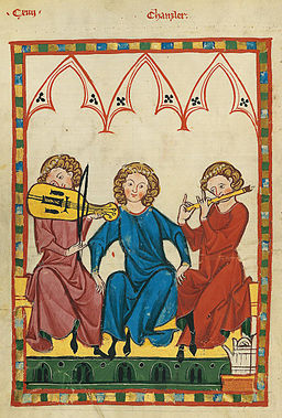 Codex Manesse 423v Der Kanzler
