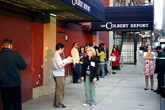The Colbert Report - Outside the studio