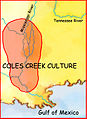 Coles creek culture map HRoe 2008.jpg