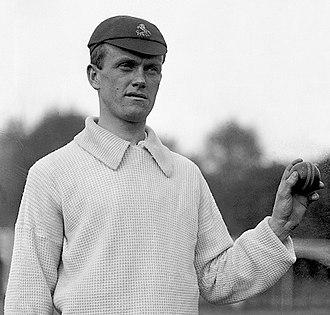 Colin Blythe - Blythe photographed by George Beldam c. 1905