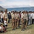 Collectie NMvWereldculturen, TM-20025954, Dia- Militairen tijdens de viering van Onafhankelijkheidsdag, Boy Lawson, 17-08-1971.jpg