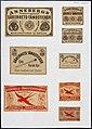 Collectie NMvWereldculturen, TM-6477-111, Etiketten van luciferdoosjes, 1900-1949.jpg