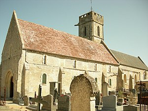 Colleville-Montgomery - Image: Colleville Mgry Eglise