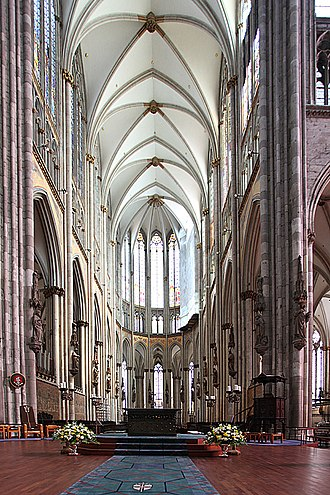 Cologne Cathedral CologneCathedralAltar.jpg