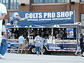 Colts mobile shop at Lucas Oil Stadium.JPG
