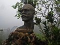 Columbus Bust On Top of El Yunque (8596821587).jpg