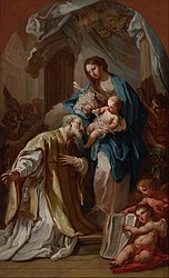 Sebastiano Conca: The Madonna Appearing to St. Philip Neri