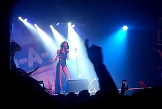 Conchita Wurst - Wurst performing at London's gay superclub Heaven in May 2014