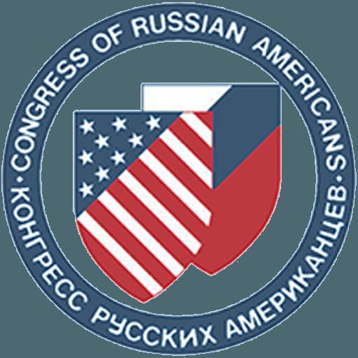 Congress of Russian Americans logo