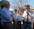Congressman George Miller visit Mt. Diablo High School's Change the Food, Change Everything Program on February 23, 2012. (6780856594).jpg