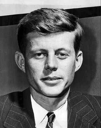 Foster Furcolo - John F. Kennedy, serving as a Congressman in 1947