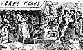 Congresul Preoților (Café Klaus), Calendarul Cocoşului Roşu, 1876.jpg