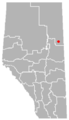Conklin, Alberta Location.png