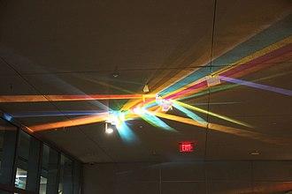 "Constitution Center (Washington, D.C.) - ""Transformation"", the light sculpture at Constitution Center"
