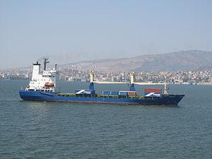Container ship Aspendos M - Izmir, Turkey - 18 Sept. 2011.jpg
