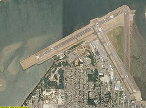 Southwest Oregon Regional Airport - Image: Coos County aerial