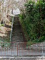 Corfe View Road steps, Corfe Mullen - geograph.org.uk - 1230302.jpg