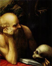 (c. 1515-1518) St. Jerome, Real Academia de Bellas Artes de San Fernando, Madrid. (Source: Wikimedia)