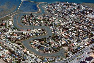 Corte Madera, California - Aerial View