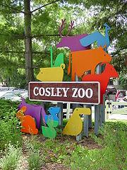 Cosley Zoo sign