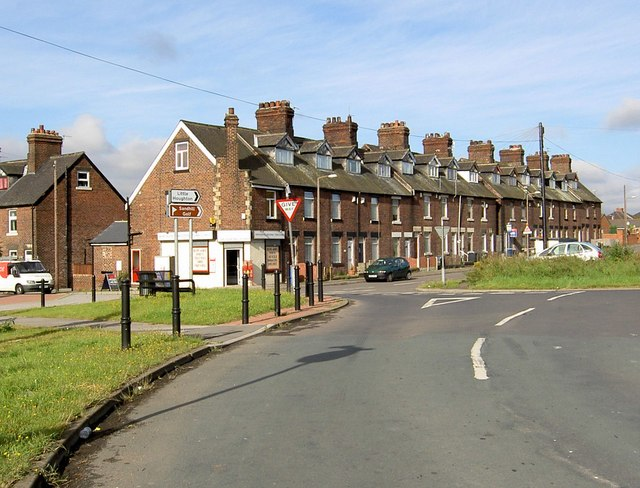 Council houses, Middlecliffe
