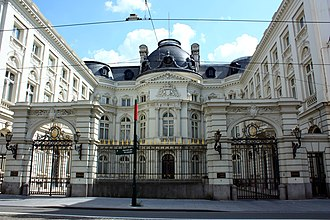 Court of Audit of Belgium - Court of Audit, Rue de la Régence 2, Brussels, in the former Palace of the Count of Flanders